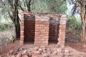 The Water Project: Kitile B Village Well -  Latrine And Bathing Room