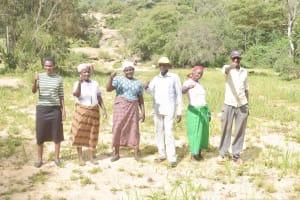 The Water Project: Ivumbu Community C -  Community Members