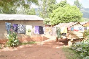 The Water Project: Ivumbu Community B -  Clothesline