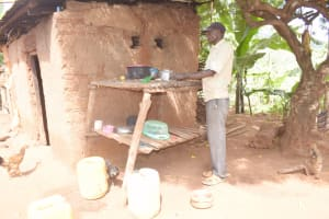 The Water Project: Ivumbu Community B -  Dishrack