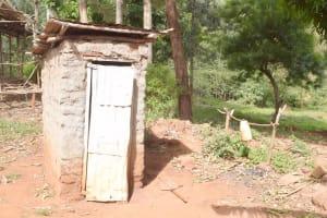 The Water Project: Ivumbu Community B -  Latrine