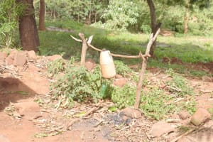 The Water Project: Ivumbu Community B -  Tippy Tap