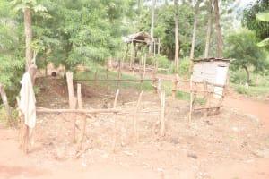 The Water Project: Ivumbu Community B -  Cattle Pen