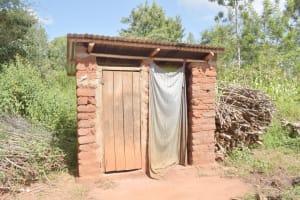 The Water Project: Ivumbu Community C -  Latrine