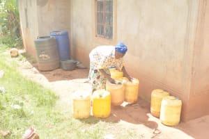 The Water Project: Ivumbu Community C -  Water Storage