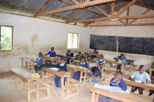 The Water Project: Mbiuni Primary School -  Inside Classrooms