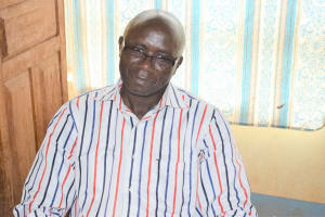 The Water Project: Mbiuni Primary School -  Senior Teacher Jerald Mwangangi
