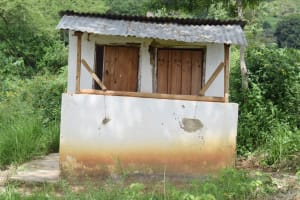 The Water Project: Mbiuni Primary School -  Staff Latrines