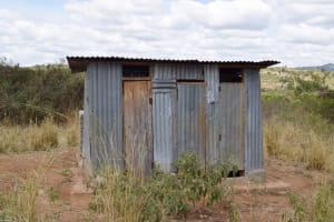 The Water Project: Mbiuni Primary School -  Boys Latrines