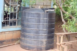 The Water Project: Mbiuni Primary School -  Water Storage