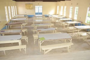 The Water Project: Nzeluni Girls Secondary School -  Cafeteria