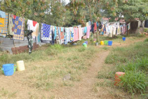 The Water Project: Nzeluni Girls Secondary School -  Clotheslines