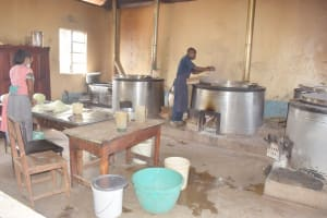The Water Project: Nzeluni Girls Secondary School -  Kitchen