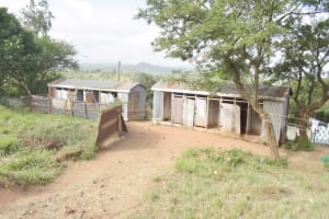 The Water Project: Nzeluni Girls Secondary School -  Latrines