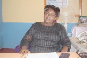 The Water Project: Nzeluni Girls Secondary School -  Lucy Mwenda