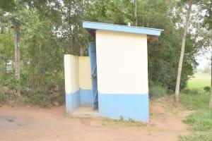 The Water Project: Nzeluni Girls Secondary School -  Staff Latrines