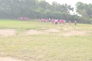 The Water Project: Nzeluni Girls Secondary School -  Students Playing