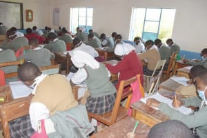 The Water Project: Nzeluni Girls Secondary School -  Students