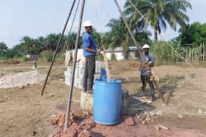 The Water Project: Sulaiman Memorial Academy Jr. Secondary School -  Bailing