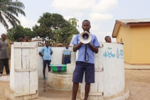 The Water Project: Sulaiman Memorial Academy Jr. Secondary School -  Student Alhassan