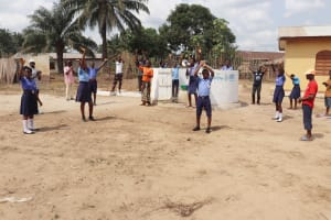 The Water Project: Sulaiman Memorial Academy Jr. Secondary School -  Well Celebration