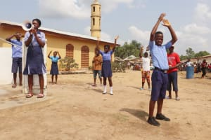 The Water Project: Sulaiman Memorial Academy Jr. Secondary School -  Celebration At The Well