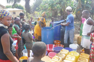 The Water Project: Sulaiman Memorial Academy Jr. Secondary School -  Yield Test