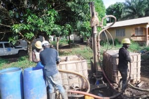 The Water Project: Lungi, Suctarr, #3 Lovell Lane -  Drilling