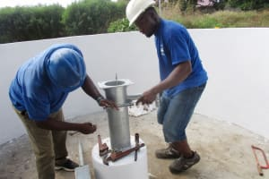The Water Project: Lungi, Suctarr, #3 Lovell Lane -  Pump Installation