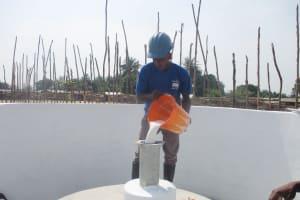 The Water Project: Kamasondo, Borope Village School -  Chlorination