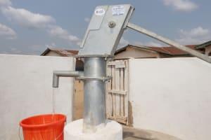 The Water Project: Kamasondo, Borope Village School -  Clean Water Flowing