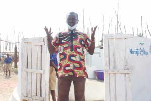 The Water Project: Kamasondo, Borope Village School -  Head Teacher Abdul Bai Kargbo