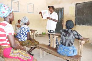 The Water Project: Kamasondo, Borope Village School -  Teachers Teaching Community Members About Bad Hygiene Pratices