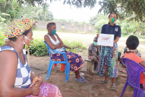 The Water Project: Lungi, Suctarr, #1 Kabbia Lane -  Teaching Clothesline Use And Importance