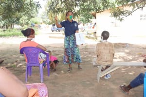 The Water Project: Lungi, Suctarr, #1 Kabbia Lane -  Discussing Bad Hygiene Practices