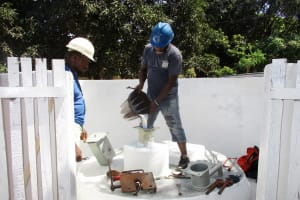 The Water Project: Lungi, Suctarr, #1 Kabbia Lane -  Chlorination