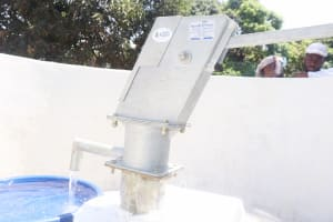 The Water Project: Lungi, Suctarr, #1 Kabbia Lane -  Clean Water Flowing