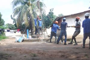 The Water Project: Lungi, Suctarr, #1 Kabbia Lane -  Drilling