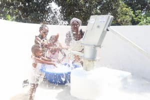 The Water Project: Lungi, Suctarr, #1 Kabbia Lane -  Joyfully Splashing Clean Water
