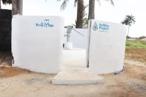The Water Project: Lungi, Tintafor, St. Augustine Senior Secondary School -  Finished Project
