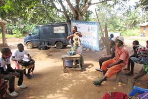 The Water Project: Lokomasama, Rotain Village -  Hygiene Facilitator Teaching About Diarrhea