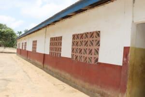 The Water Project: St. Peter Roman Catholic Primary School -  Back Of School Building
