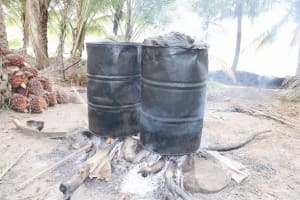 The Water Project: St. Peter Roman Catholic Primary School -  Palm Oil Processing