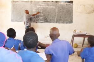 The Water Project: St. Peter Roman Catholic Primary School -  Pupils Inside Classroom