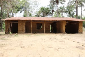 The Water Project: St. Peter Roman Catholic Primary School -  Previous School Building