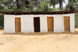 The Water Project: St. Peter Roman Catholic Primary School -  School Latrine