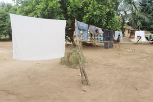 The Water Project: DEC Kitonki Primary School -  Clothesline