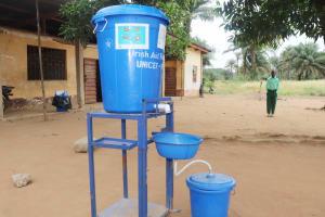 The Water Project: DEC Kitonki Primary School -  Handwashing Station