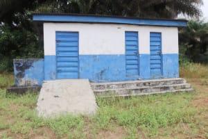 The Water Project: DEC Kitonki Primary School -  School Latrine Boys Block