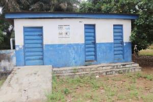 The Water Project: DEC Kitonki Primary School -  School Latrine Girls Block